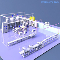 Palm oil Shortening Vegetable Ghee Margarine Processing Line making machine china manufacture