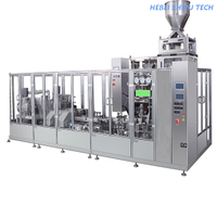 Roll Film Auger Vacuum Hexahedron Bag Packing Machine China Manufacture