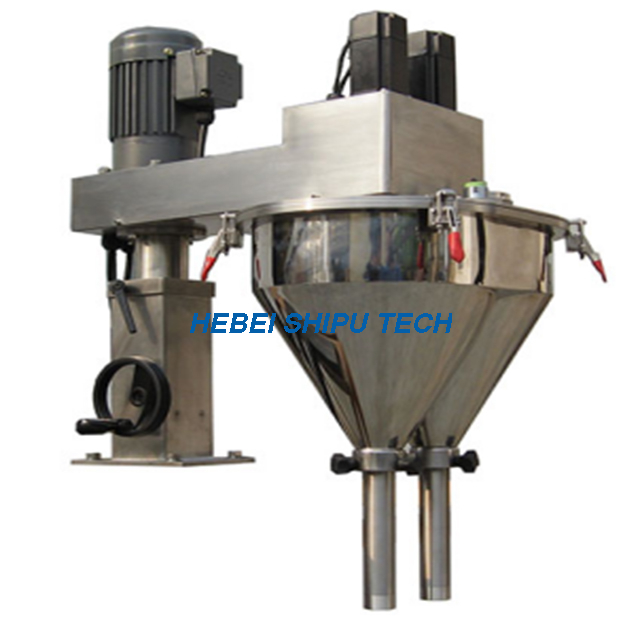 Pesticide Powder Filling Machine (1 Line 2fillers) Model SP-L12-M China Manufacturer