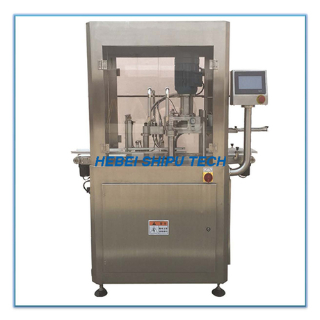 Automatic Nitrogen Flushing Milk Powder Vacuum Can Seaming Machine Vacuum Can Seamer China Manufacturer