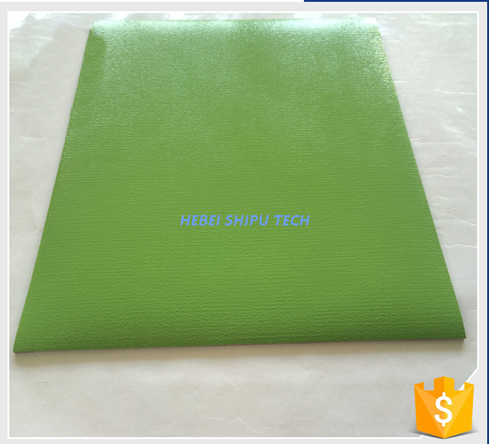 Indoor UV Coating PVC Plastic Flooring Easy Cleaning China Manufacturer