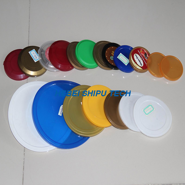 Packaging Material Roll Film Tinplate Bottom Easy Peel Off Plastic Lid Milk Can China Supplier