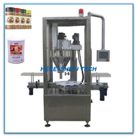 Automatic TCM Powder Bottle Filling Machine China Supplier