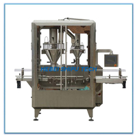 Automatic Coffee Powder Bottle Filling Machine (1 Line 2fillers) China Manufacturer
