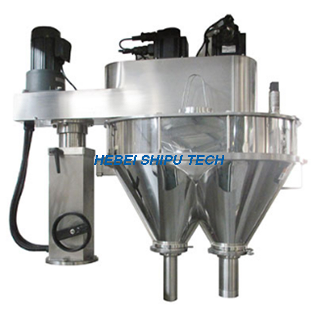 Milk Powder Automatic Auger Filling Machine (2 Lines 2fillers) Model SP-L2-S China Manufacturer
