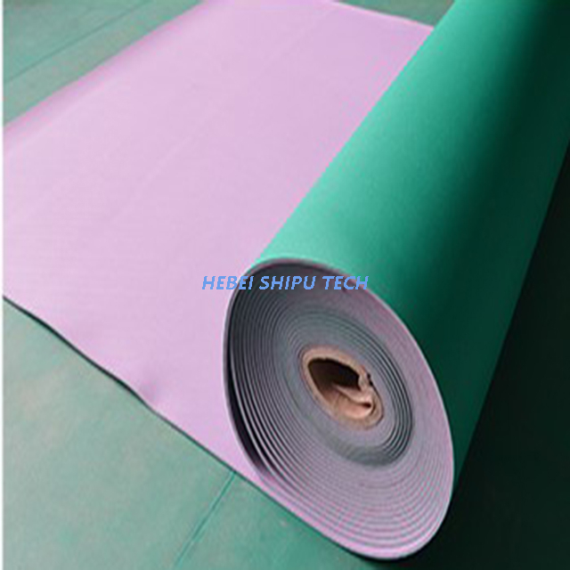 6-8mm Sand Grain Indoor PVC Sports Flooring