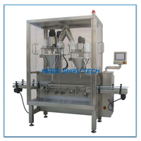 Tinplate Milk Powder Chicken Powder Can Filling Machine China Manufacturer